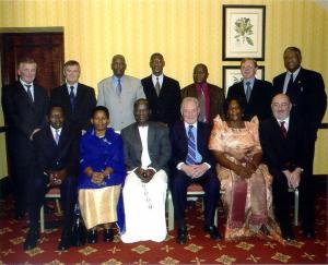 Parliamentary Delegation in the September 22-26, 2003.Pintois in the back far right.